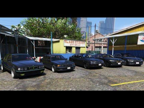 GTA V | BMW 7 SERIES E32 E38 E65 F01 G11 | GTA 5 MOD