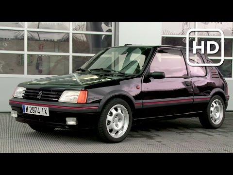 Como nuevo: Restauración del Peugeot 205 GTI