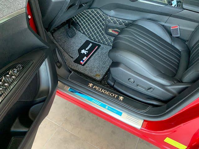 Hướng dẫn lắp đặt thảm sàn xe Peugeot 5008