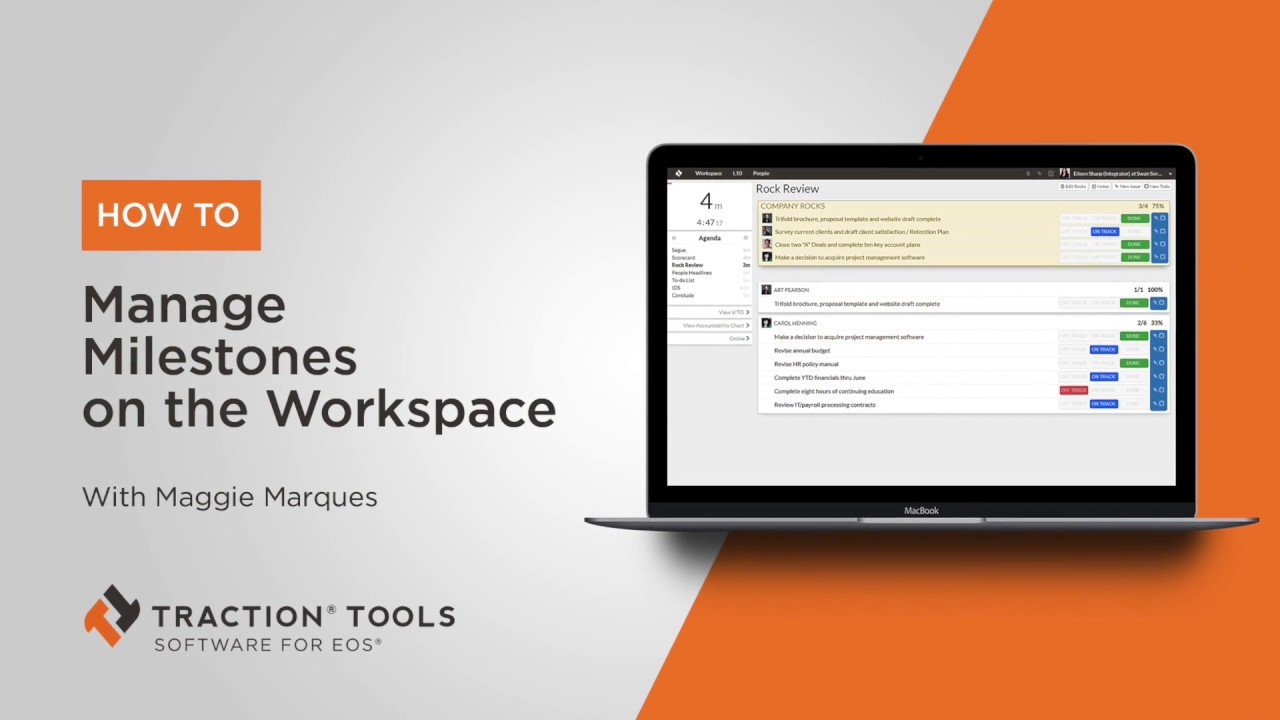 How To Manage Milestones From Workspace Youtube
