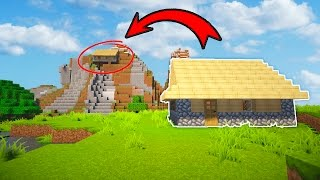 SLOWLY MOVING A PLAYERS HOUSE TILL THEY NOTICE! (Minecraft Trolling)