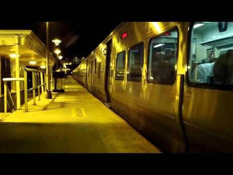 LIRR- Friday Evening Rush at Cold Spring Harbor Feat  M7s, One M3, and Port Jeff Diesels!