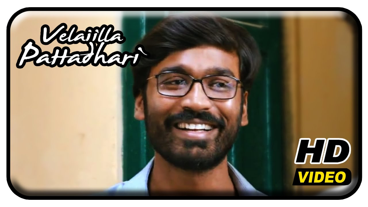 Velaiilla Pattadhari Tamil Movie - Dhanush argues with the suppliers