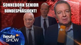 Martin Sonneborn's Vater will Bundespräsident werden