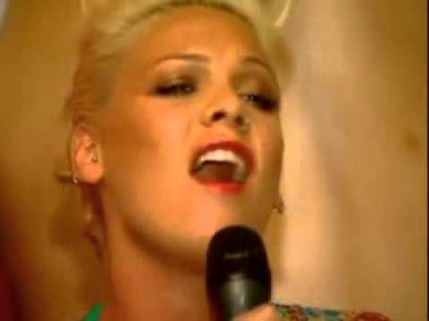 Pink singing Janis' Mercedes Benz