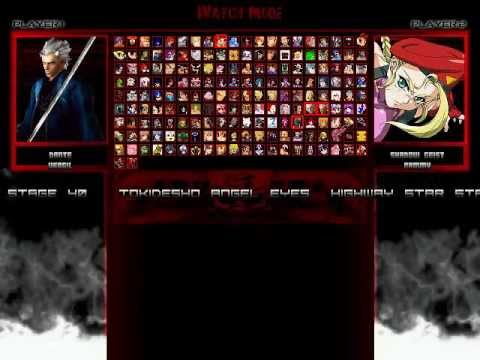 TK's Random Mugen Battle #2020 - Dante & Vergil VS Shadow Geist & Cammy