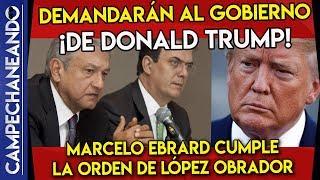 DE ULTIMA HORA MÉXICO DEMANDARÁ AL GOBIERNO DE TRUMP ¡AMLO DA LA ORDEN!
