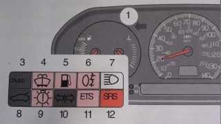Volvo S70 V70 Airbag SRS Warning Light - Turn it off