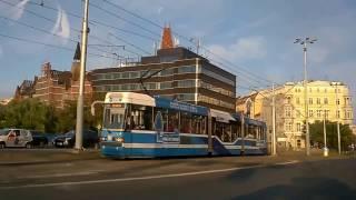 Вроцлав. Мимо достопримечательностей.(Это видео мы снимали, когда уже выезжали из Вроцлава, навигатор не повел нас по центральным улицам, зато..., 2017-01-10T14:00:10.000Z)
