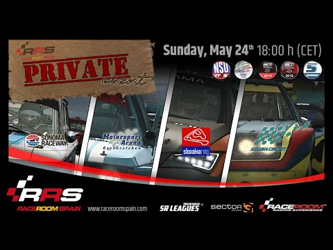 Evento Privado RRS 📌 RaceRoom Spain 2020 🚦 4 Cars In 4 Tracks