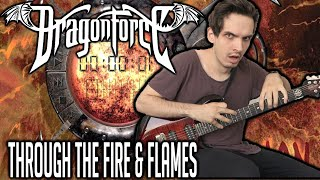 DragonForce | Through the Fire and Flames | GUITAR COVER (2020) + Screen Tabs