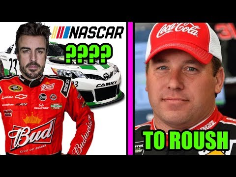 ALONSO TO NASCAR?? | NEWMAN TO ROUSH | NEW YORK YANKEES GO INDYCAR RACING