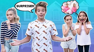 My Crush and I SURPRISE SUPERFANS At Their House 🏠❤️ | Gavin Magnus ft. Coco Quinn
