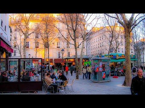 A Walk Around Place Des Abbesses, Montmartre, Paris