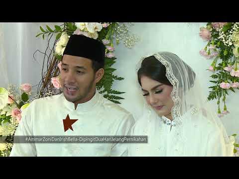 Ammar Zoni & Irish Bella, Dua Hari Dipingit Jelang Pernikahan | Selebrita Siang