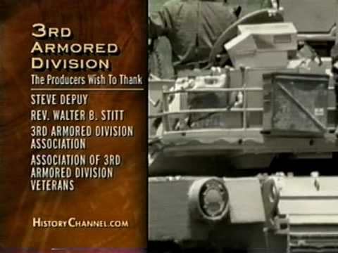 Third Armored Division Persian Gulf War
