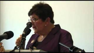 Joan Kirner speaks at the Heartbreak Hotels report launch