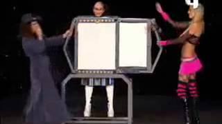 Failed magic trick