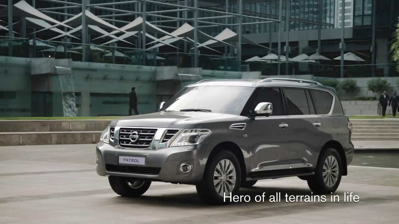 Nissan Patrol 2014 The Hero Of All Terrain In Life Youtube