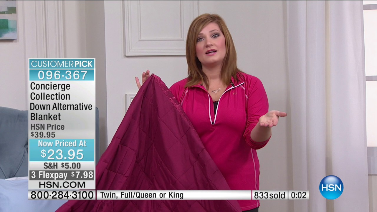 hsn | concierge collection bedding 05.30.2017 - 08 pm - youtube