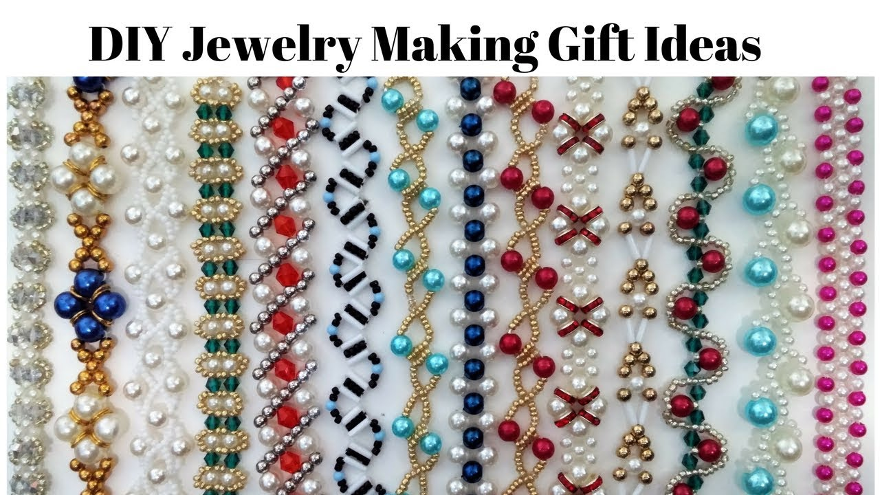 Diy Jewelry Making Gift Ideas Beading Patterns Youtube