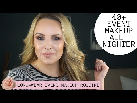 LONG-WEAR EVENT MAKEUP TUTORIAL 40+  (NEW YEARS, WEDDINGS, PHOTOS...)