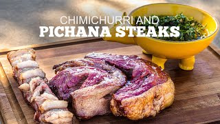 Picanha Steaks With Chimichurri Sauce
