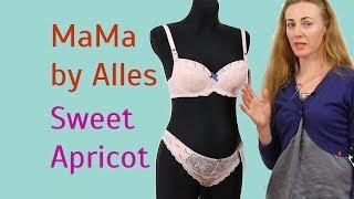 Бюстгальтер для Кормления Alles Mama Sweet Apricot с трусиками