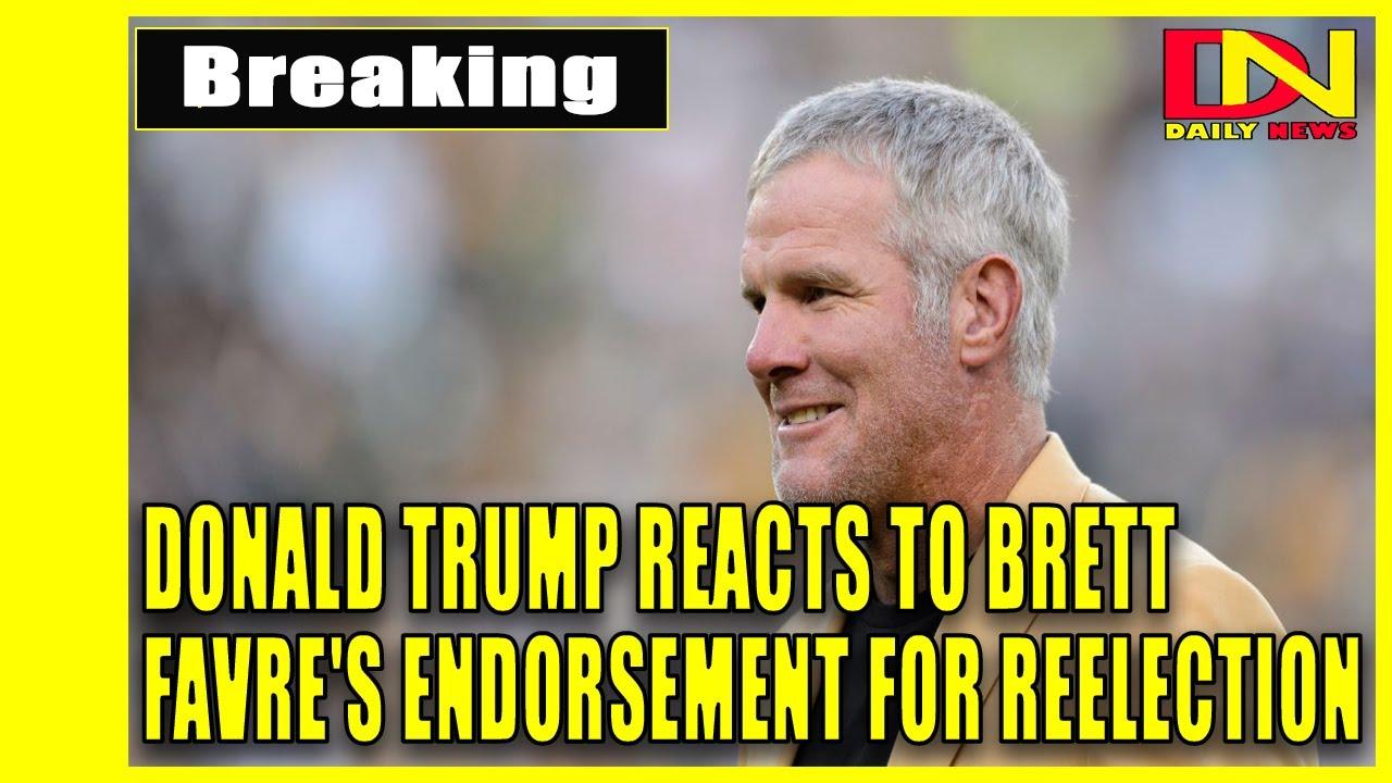 Packers Hall of Famer Brett Favre endorses President Trump
