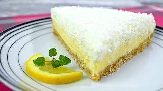 Ciasto cytrynowe z bitą śmietaną i kokosem - Jak zrobić - Smakowite Dania