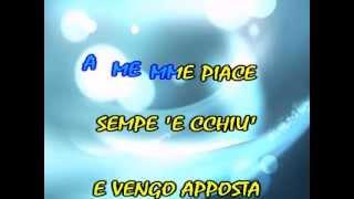 Lazzarella - KARAOKE + VOCE - Genny Day - (HQ Video)
