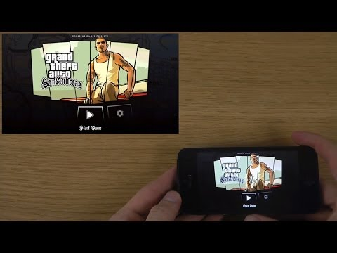 Grand Theft Auto: San Andreas iPhone 5 iOS 6.1.4 HD Gameplay Trailer