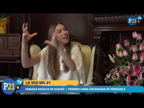 """""""EN VENEZUELA HAY MÁS ESPERANZA QUE NUNCA""""  FABIANA ROSALES"""