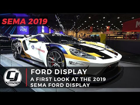 SEMA 2019 | A First Look At Ford's Booth