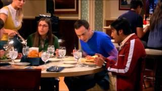 Sheldon in the zone + a racoon virus?? (TBBT : The Romance Resonance)