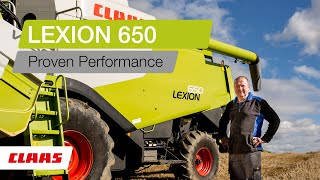 LEXION 650. Proven Performance.