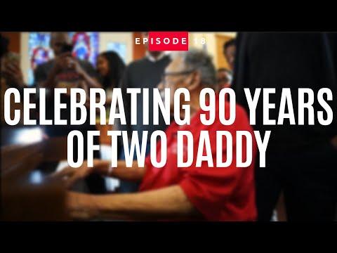 "Celebrating 90 Years Of Arthur ""Two Daddy"" Evans | Jonathan Evans Vlog"