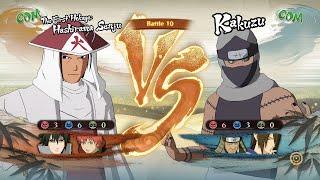 Naruto Shippuden Ultimate Ninja Storm 4, HashiramaSasukeSasori VS KakuzuHiruzenUtakata!