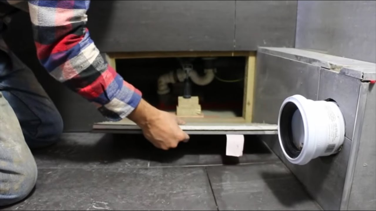 Part 8: How to Make a Bath Access Panel - YouTube