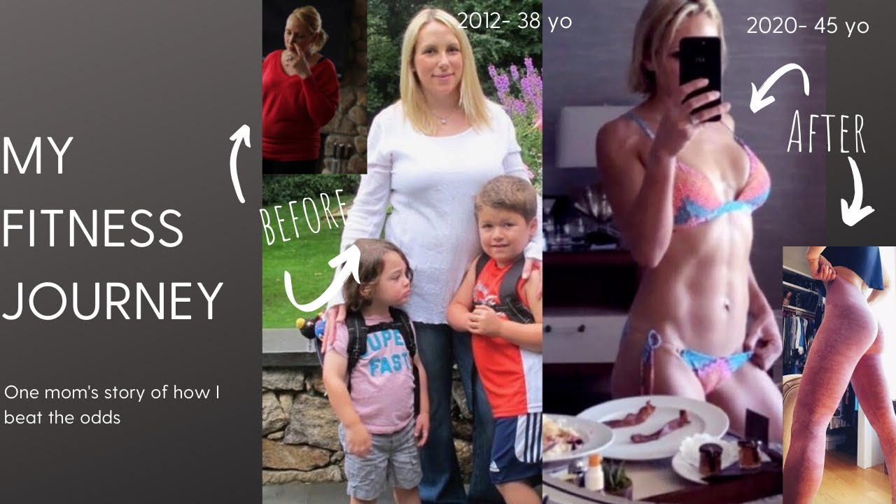 MY BEFORE AND AFTER FITNESS JOURNEY: HOW I BEAT THE ODDS (mom in her 40s)