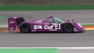 Jaguar XJR-14 1991 V8 Pure Sound @Spa Francorchamps 2015
