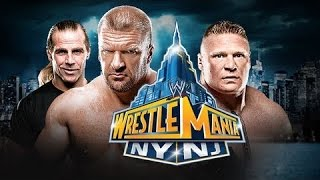 WWE WrestleMania [29] XXIX ► Brock Lesnar vs Triple H [OFFICIAL PROMO HD]