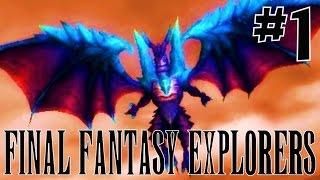 [1] Burned By Bahamut! (Final Fantasy Explorers Multiplayer)