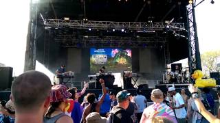 Ryan Null Tackled During Zoogma Set @ Camp Bisco 2015