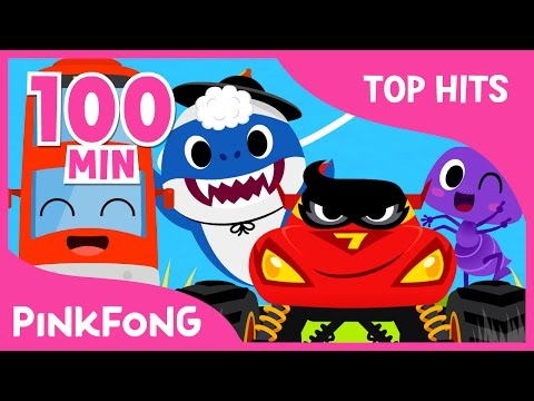 The Best Songs of March 2017 | Color Bus and more | +Compilation | Pinkfong Songs for Children