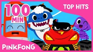 Gambar cover The Best Songs of March 2017 | Color Bus and more | +Compilation | Pinkfong Songs for Children
