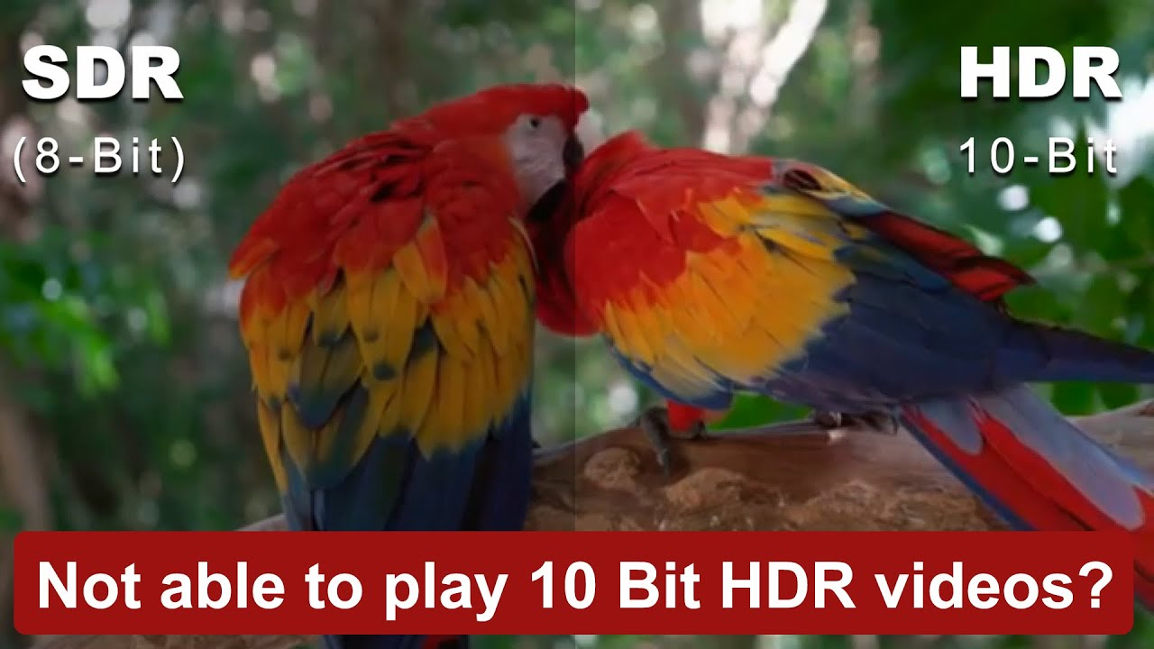 High quality smooth 10 Bit HDR Media Player on Windows 10, Android , iPhone  & iPad | CnX Player