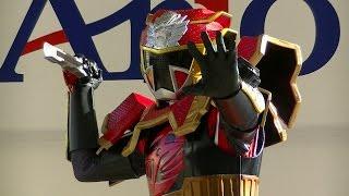 2015/9/23 埼玉県上尾市で行われた、手裏剣戦隊ニンニンジャーショーの...