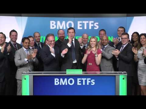 BMO Exchange Traded Funds Opens Toronto Stock Exchange, March 31, 2017