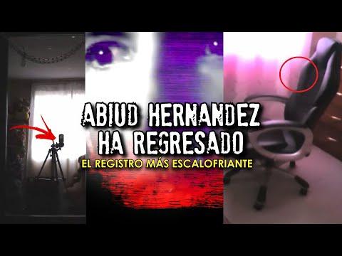 ABIUD HERNÁNDEZ HA REGRESADO con un registro escalofriante